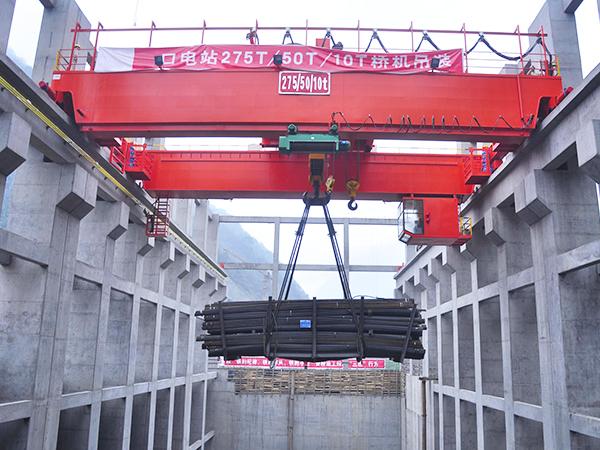 Double Girder Overhead Crane in Power Plant