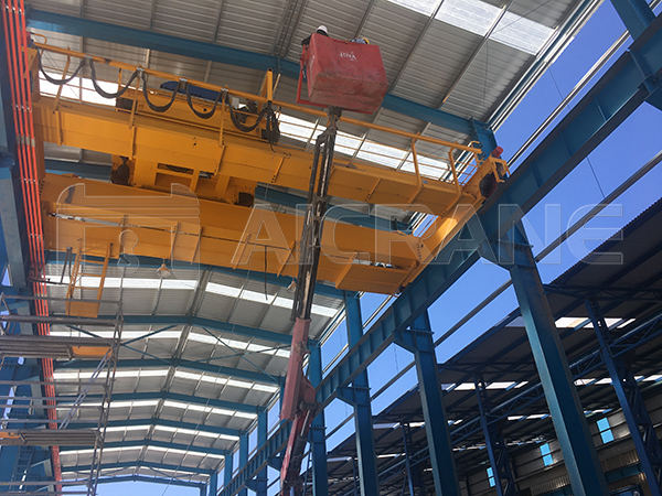 50 Ton EOT Crane Installation