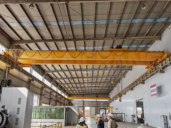 AQ-LH Hoist Double Girder EOT Crane For Sale
