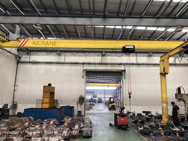 European-style Underhung Crane Hoist Manufacturer