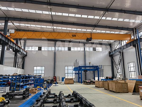 AQ-HD 10 Ton Overhead Crane in Warehouse