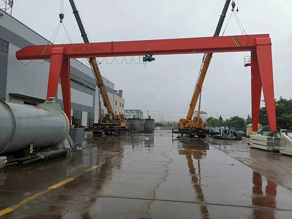 AQ-MH Single Girder Gantry Crane For General Lifting