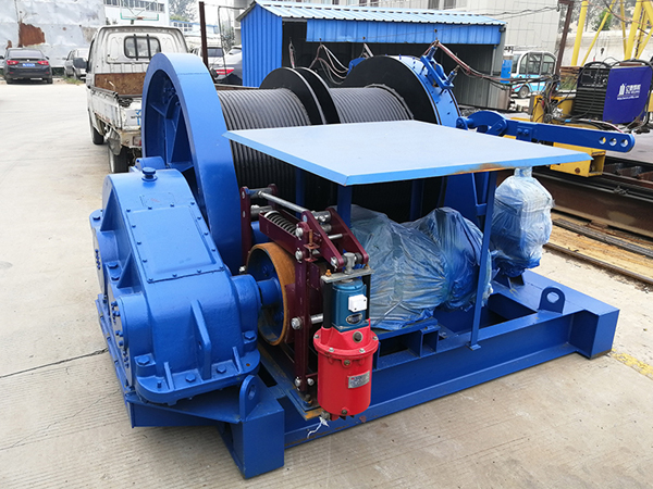 Electric Double Drum Winch For Sale