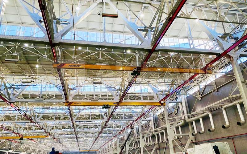 Underhung Bridge Crane 10 Ton For Sale