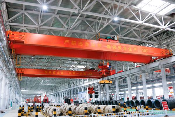 AQ-QC Magnetic Overhead Crane For Sale