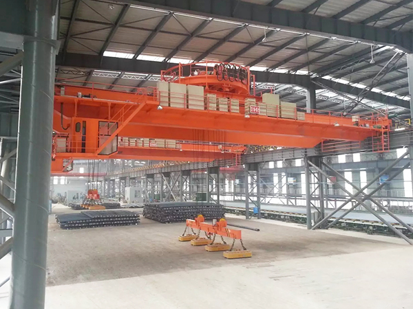 AQ-QCL Electromagnetic Overhead Crane For Sale