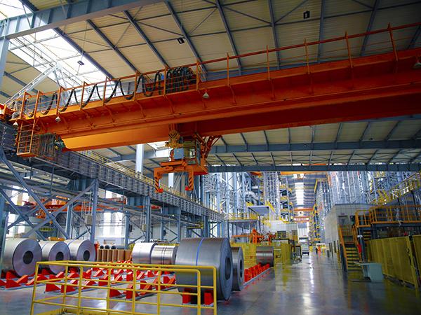 AQ-QD Overhead Crane in Steel Mill Warehouse