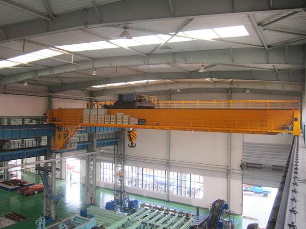 AQ-QDX Overhead Crane in Workshop