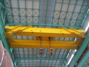AQ-QE Double Trolley Overhead Crane For Sale