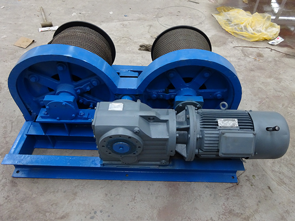 Winch With Three-in-one Drive