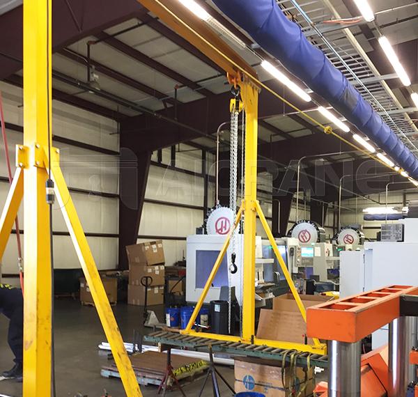 Portable Workshop Gantry Crane For Sale