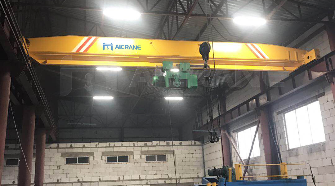 AQ-LD 20 Ton Overhead Travelling Crane in Kazakhstan