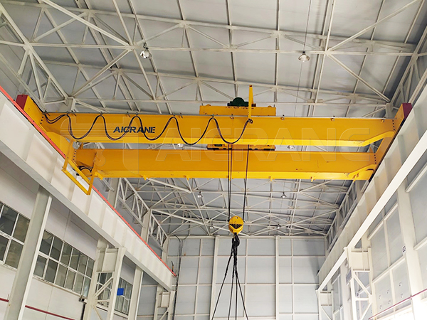 AQ-LH Double Girder Hoist Overhead Crane For Sale