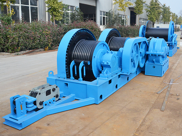 Friction Winch For Construction Projects