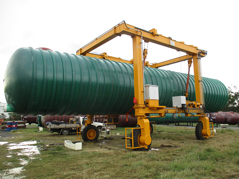 15 Ton Rubber Tyred Gantry Crane for Sale