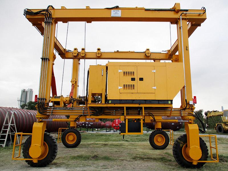 15 Ton Mobile Gantry Crane Manufacturer