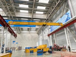 AQ-HD Single Girder Overhead Travelling Crane Supplier
