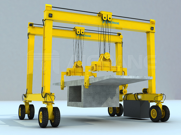 Double-beam Rubber Tired Gantry Crane Manufacturer